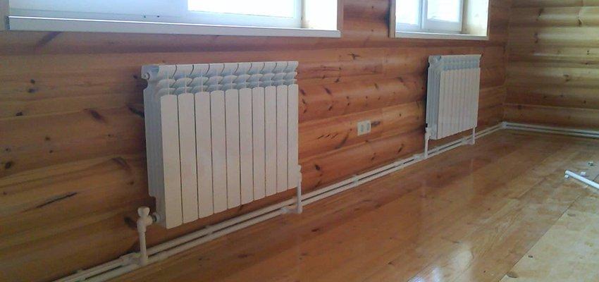 Монтаж отопления своими руками в деревянном доме 26